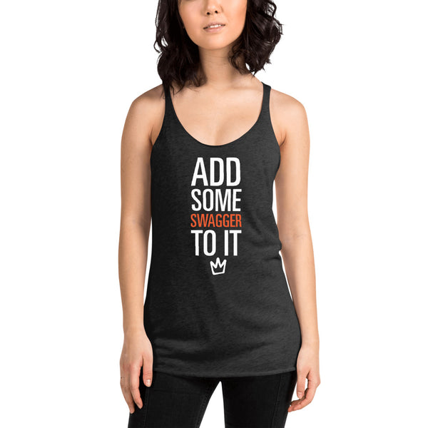 Mucci Add Some Swagger Racerback Tank