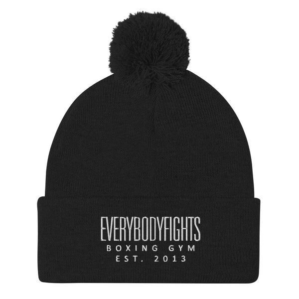 *NEW* EverybodyFIghts Pom-Pom Beanie