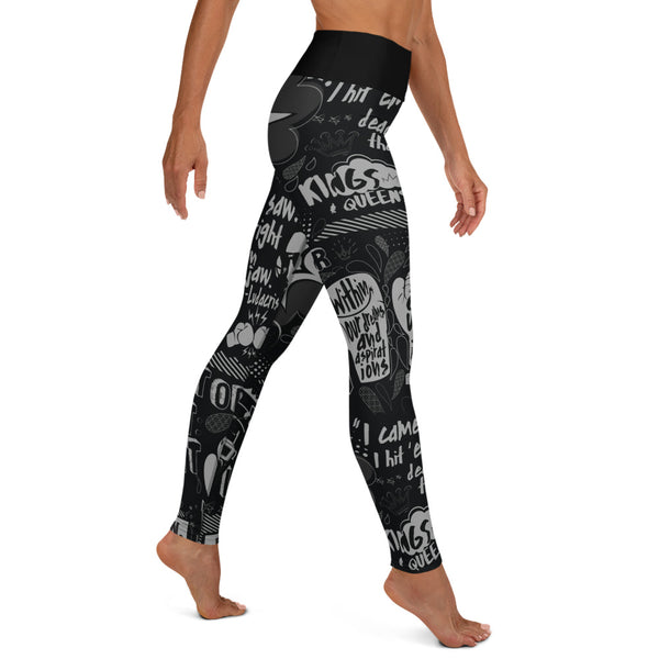 *New* EverybodyFights Yoga Leggings