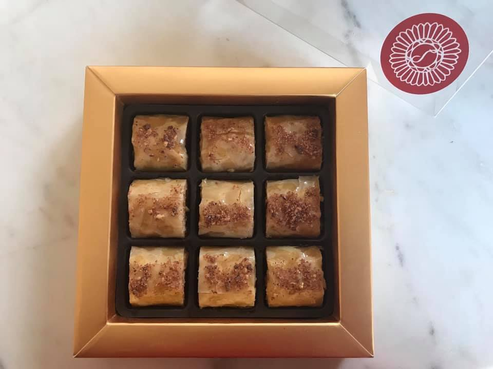 Toffee with Cacao Nibs Premium Baklava