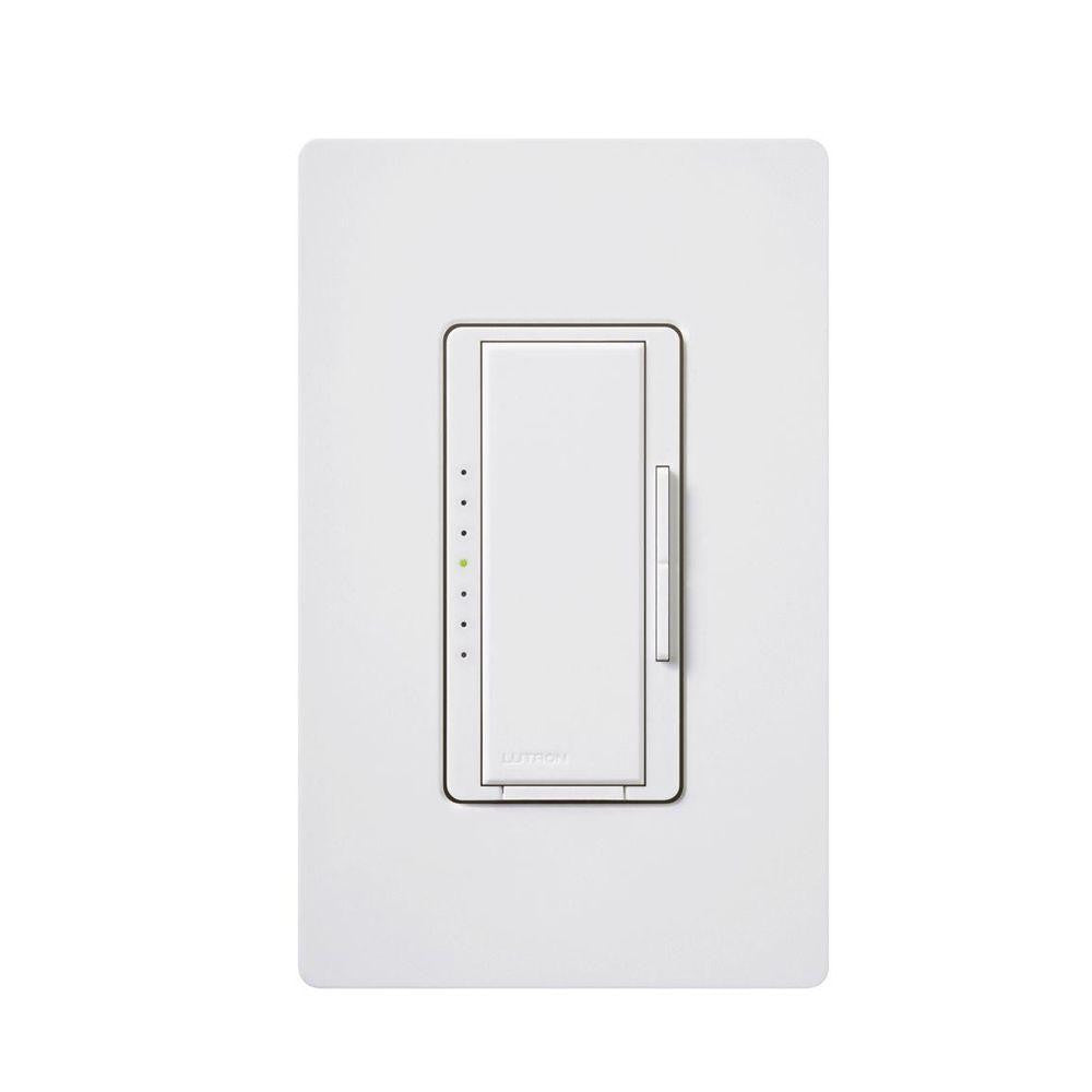 Lutron Diva DV-600-PH-WH Light Dimmer Switch for LED Lighting Single Pole