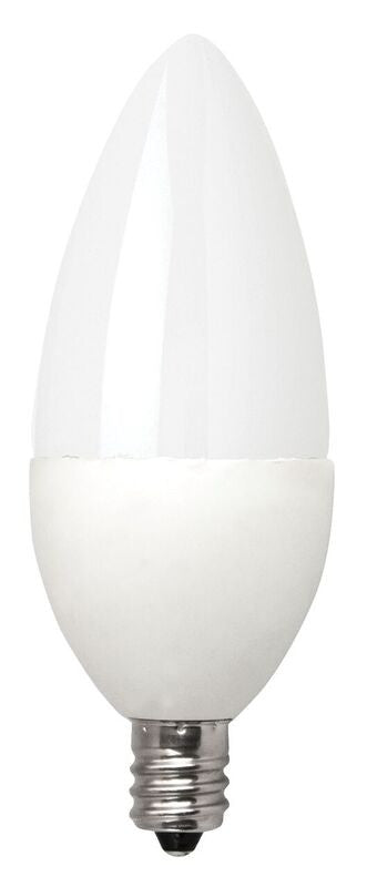 TCP Deco 5 Watt B11 LED - Frosted - Dimmable - 300 Lumens - 2400K - 40 Watt Equivalent