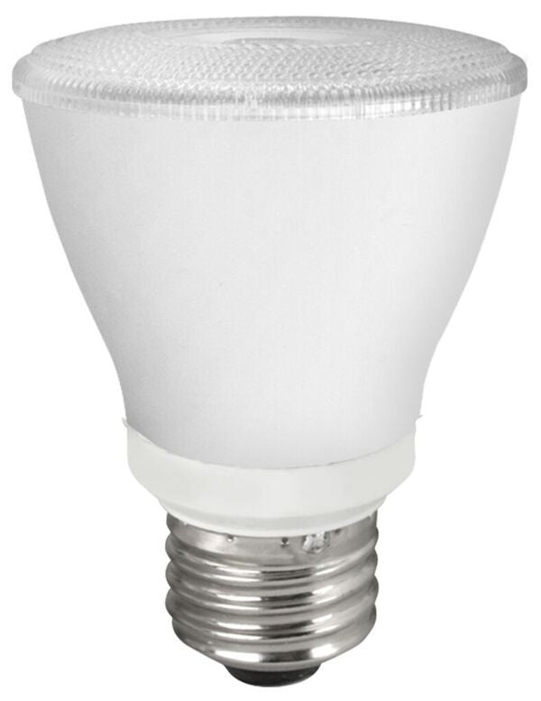 TCP Elite 8 Watt PAR20 LED - Dimmable - 530 Lumens - 4100K - 25° Narrow - 50 Watt Equivalent
