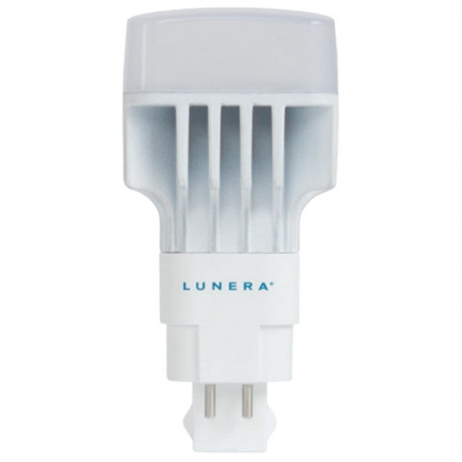 Lunera 13 Watt PL LED Vertical Mount G24q 4-Pin Base Non-Dimmable 3500K Warm White Light Bulb