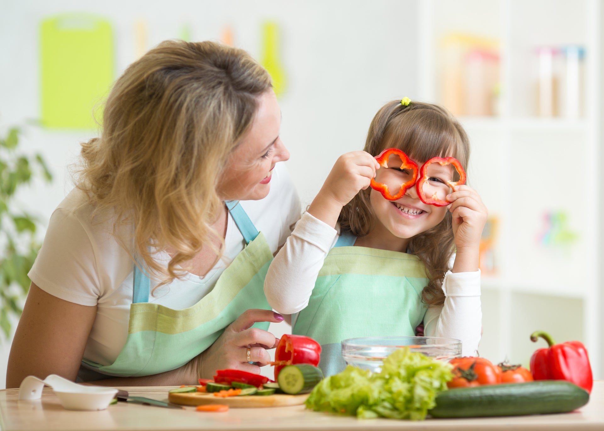Teaching Your Child Cooking