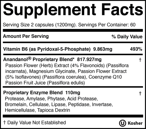 Neural Balance Capsules Ingredients