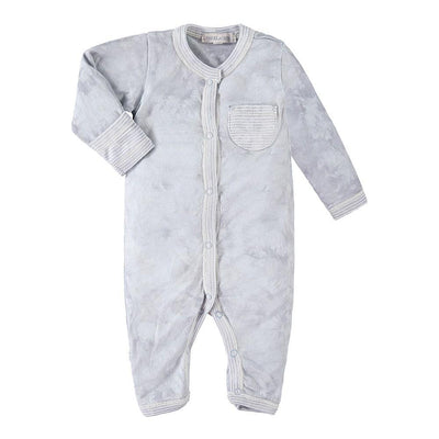 Baby Coverall Tie Dye-Layette - PAIGELAUREN