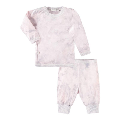 Baby L/S Tee and Legging Tie Dye Set-Layette - PAIGELAUREN