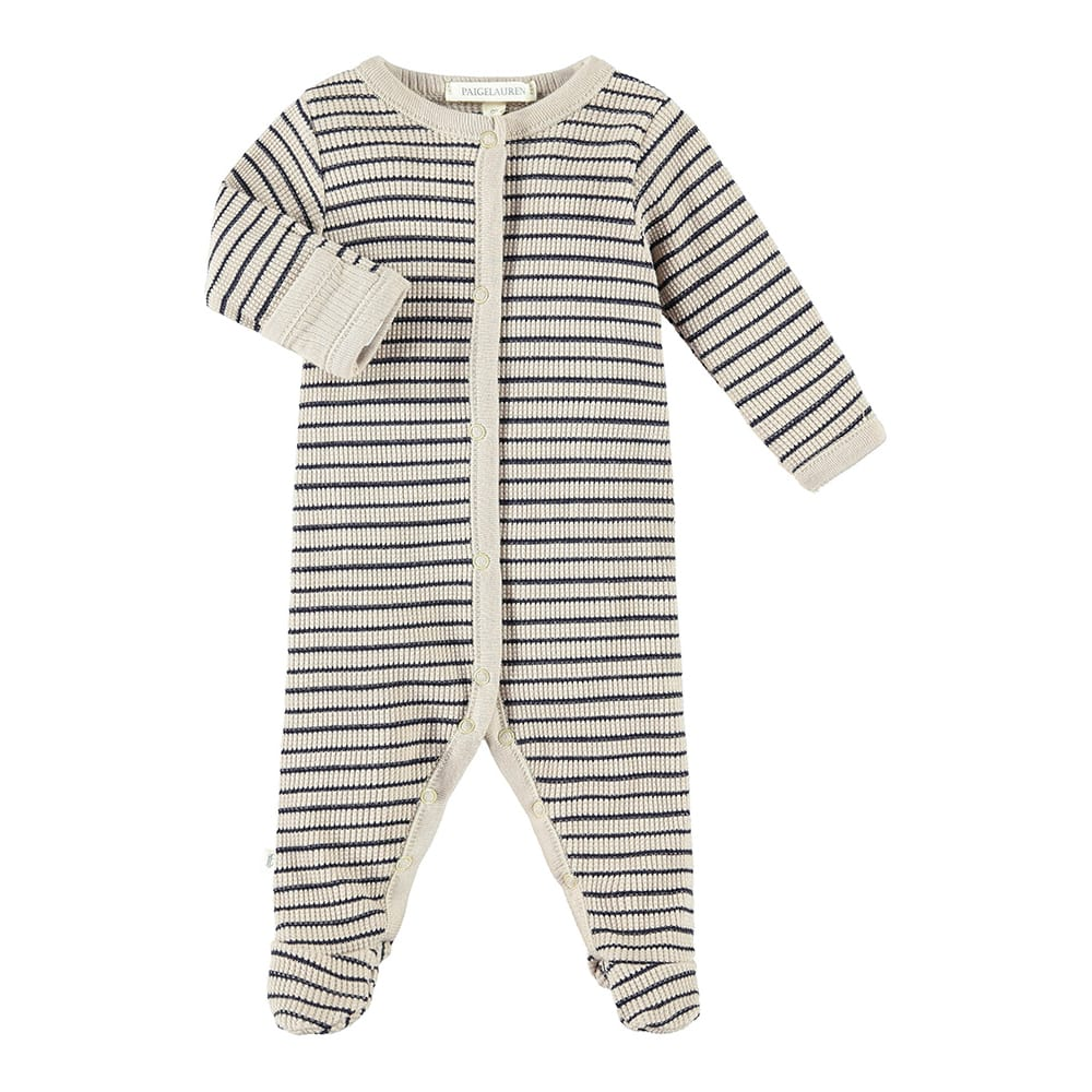 Baby Romper W/Footie-Planet