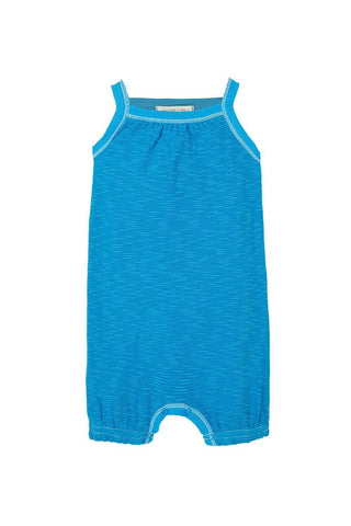 Baby S/S Short Pant Romper w/Collar - Rock N' Roll