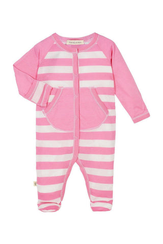 Baby L/S Footie Romper - Palm Springs