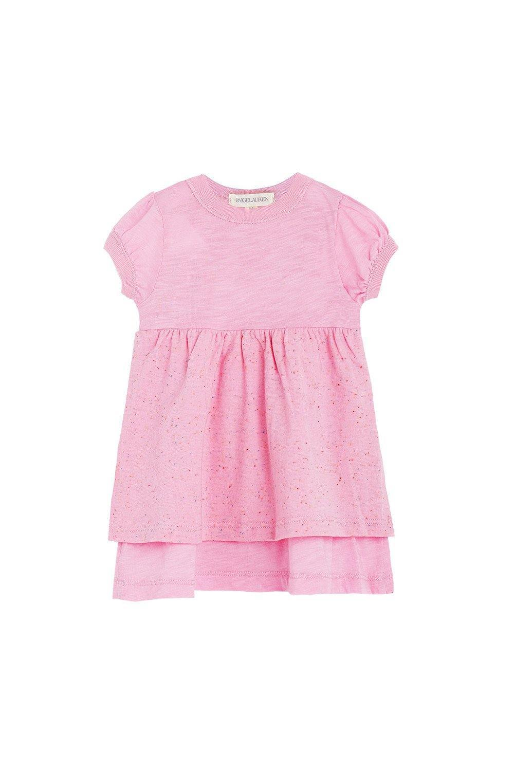 Baby S/S Dress - Sorbet - PAIGELAUREN