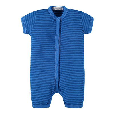 Baby Short Sleeve Short Pant Romper - Palm Springs - PAIGELAUREN