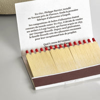 The Fabbrica di Fiammiferi Matchbooks - Pre rolled - Devambez