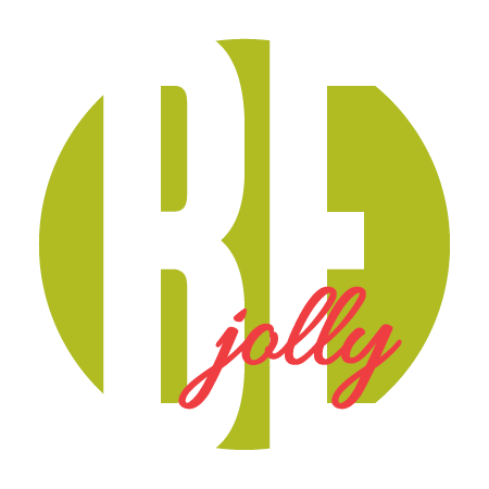 """Be Jolly"" Green Sticker"