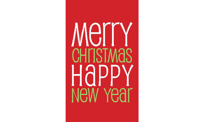 Merry Christmas Gift Tags.Red Stripe Merry Christmas Gift Tags