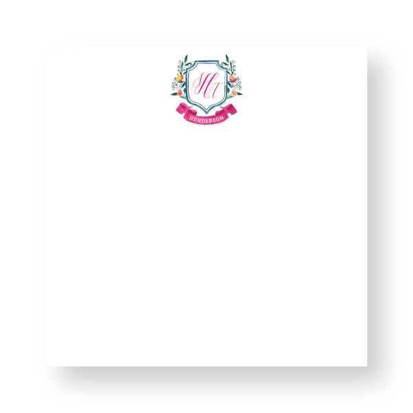 Executive Notepad - Couture Crest CR14
