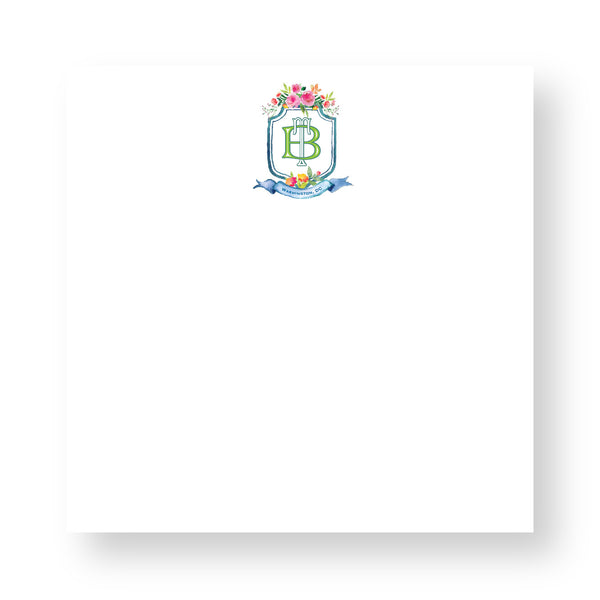 Executive Notepad - Couture Crest CR4