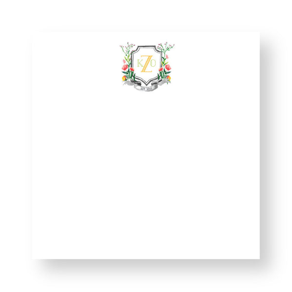 Executive Notepad - Couture Crest CR7