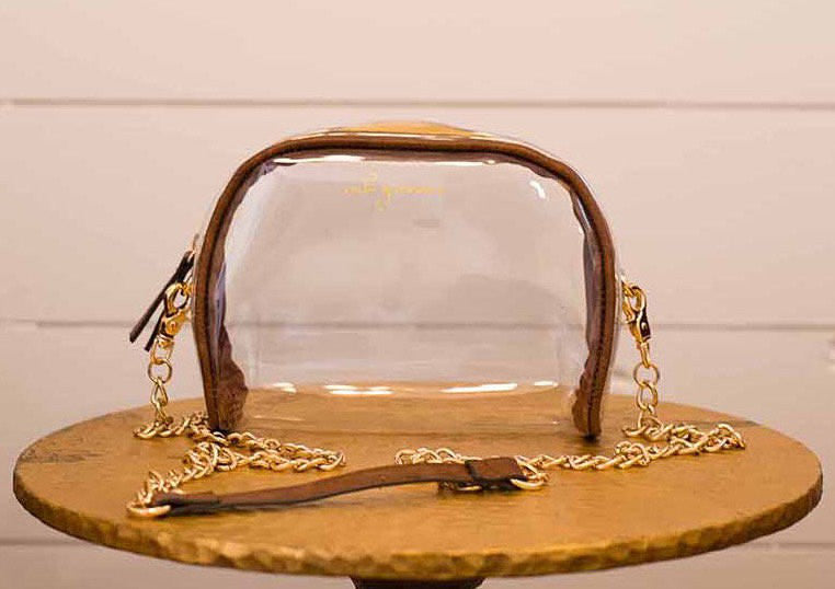 Be Clear Chain Purse