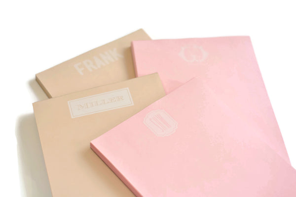 Personalized Pastel Notepads Combo Packs