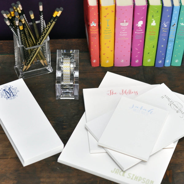 Personalized Notepads Executive Combo Sets