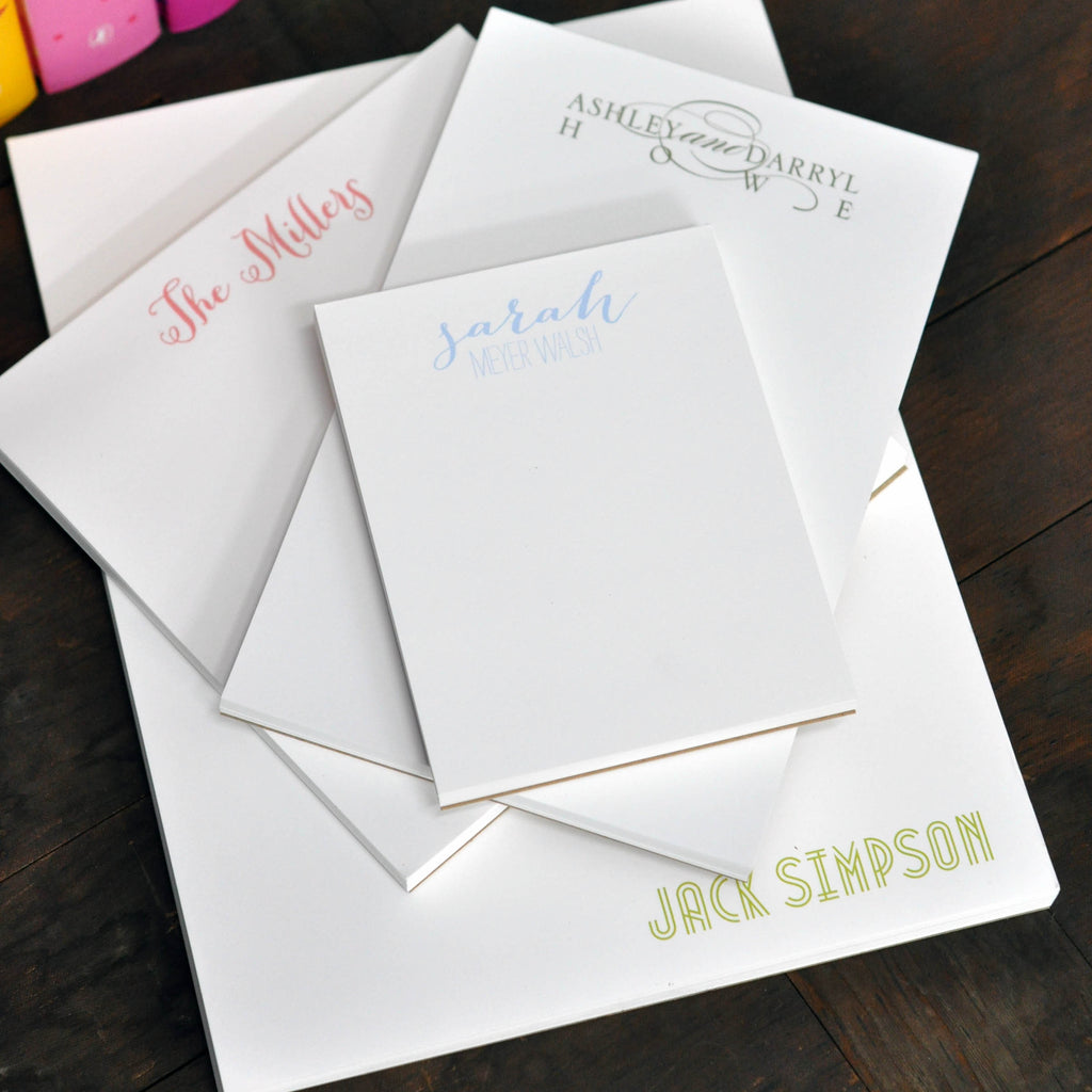 Personalized Market Executive Notepad