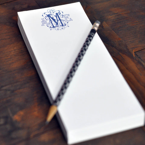 Personalized Skinny Executive Notepad