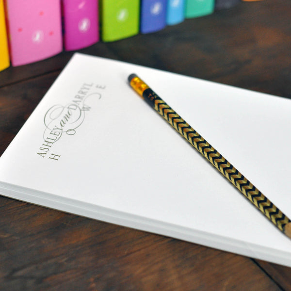 Personalized Large Executive Notepad