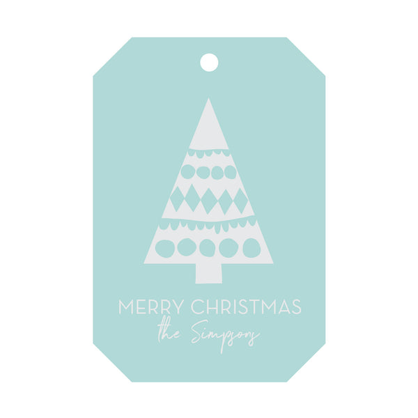 Holiday Foil Gift Tag - T165