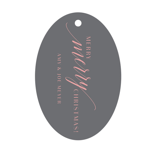 Holiday Foil Gift Tag - T166