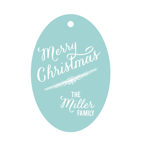 Holiday Foil Gift Tag - T184