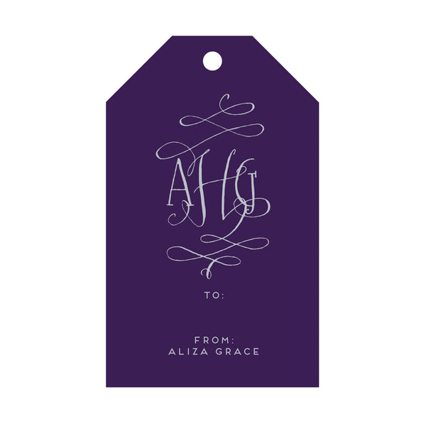 Foil Gift Tag - T19