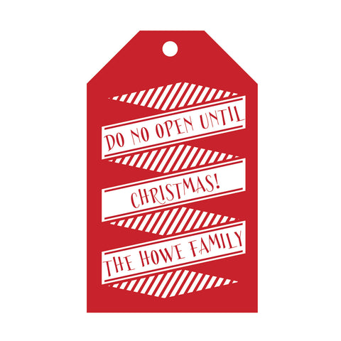 Holiday Foil Gift Tag - T35