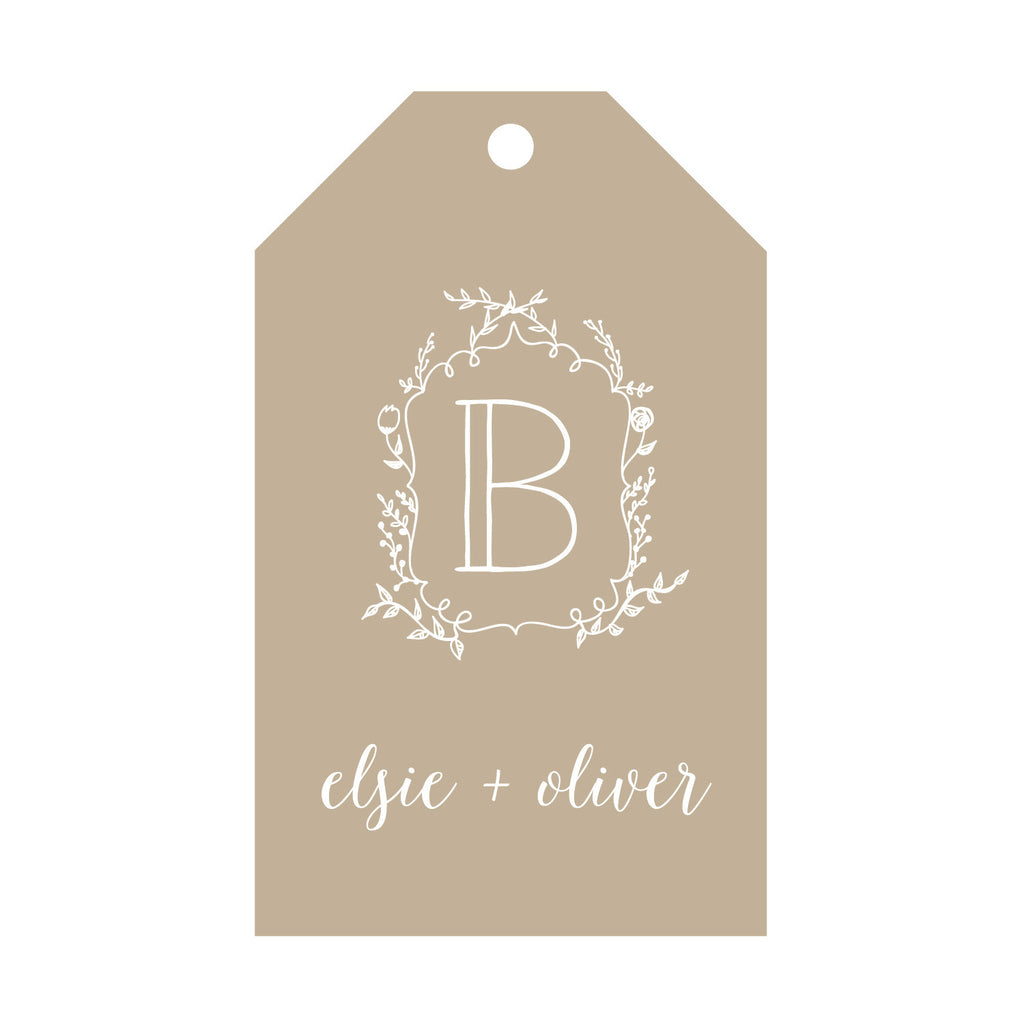 Foil Gift Tag - T54