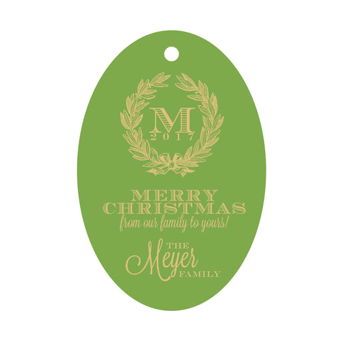 Holiday Foil Gift Tag - T58