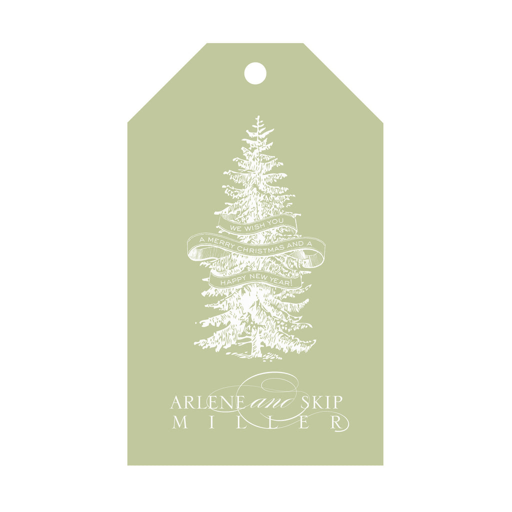 Holiday Foil Gift Tag - T59