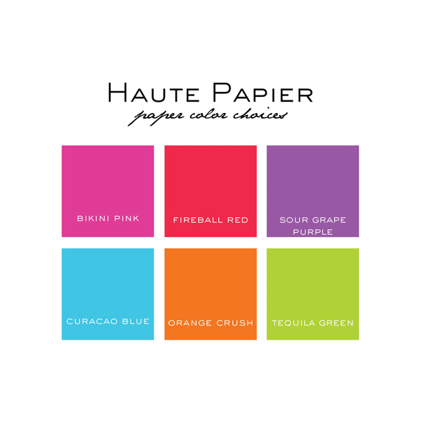 Personalized Small White on Bright Notepads