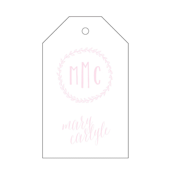 Letterpress Gift Tag - T105