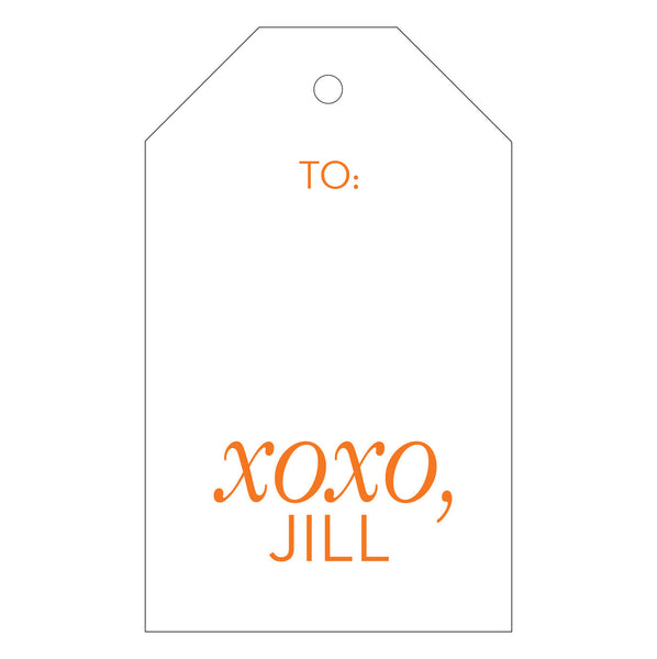 Letterpress Gift Tag - T146