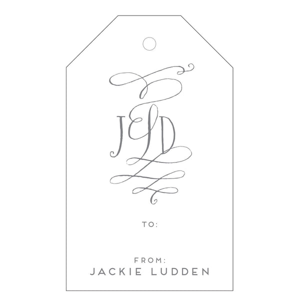 Letterpress Gift Tag - T19