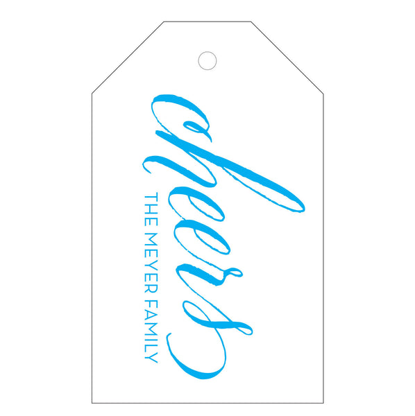 Letterpress Gift Tag - T28