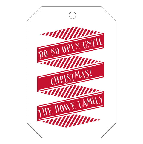 Holiday Letterpress Gift Tag - T35