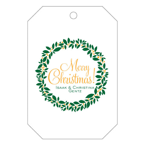 Holiday Letterpress Gift Tag - T67