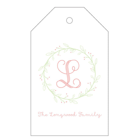 Holiday Letterpress Gift Tag - T75