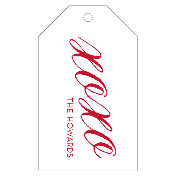 Letterpress Gift Tag - T77