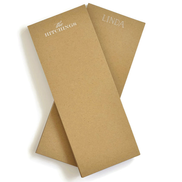 Personalized Market Kraft Notepads