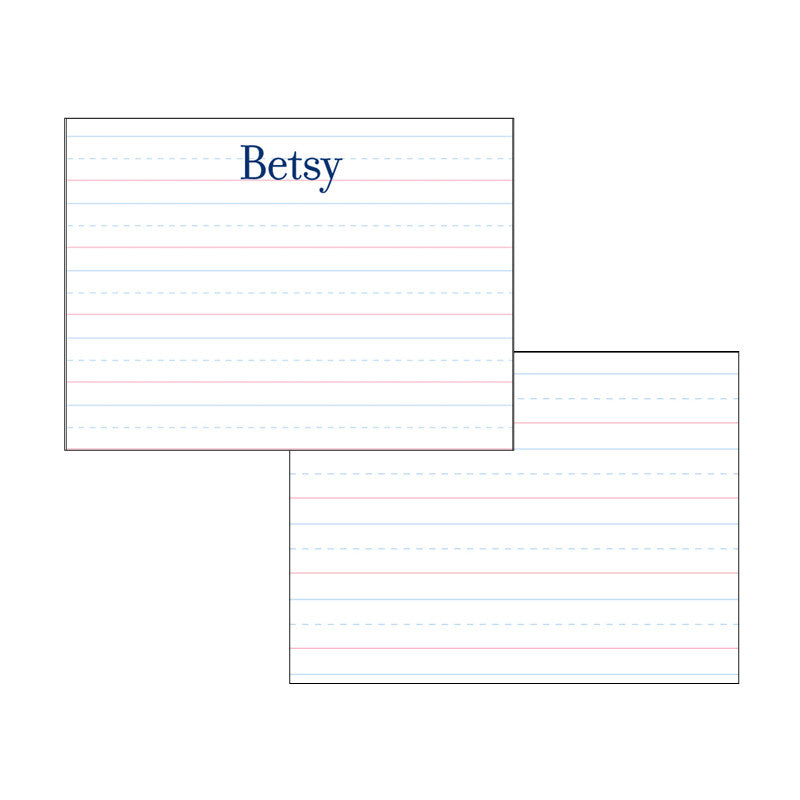 Stationery for Kids - Betsy