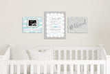"#blessed Nursery Art - Polkadot 10""x8"""