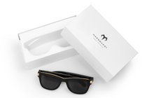 Load image into Gallery viewer, Audio Sunglasses-Audio Sunglasses-Carbon Black x Charcoal-MarsQuest